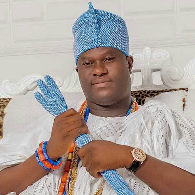 HIS IMPERIAL MAJESTY, OBA ADEYEYE OGUNWUSI, OONI OF IFE